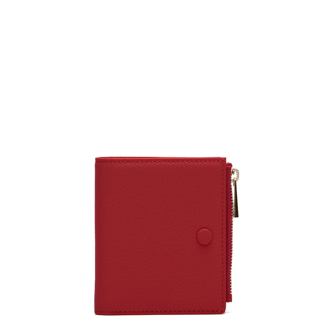 Everywhere Mini Wallet - Brick Red - OAD NEW YORK