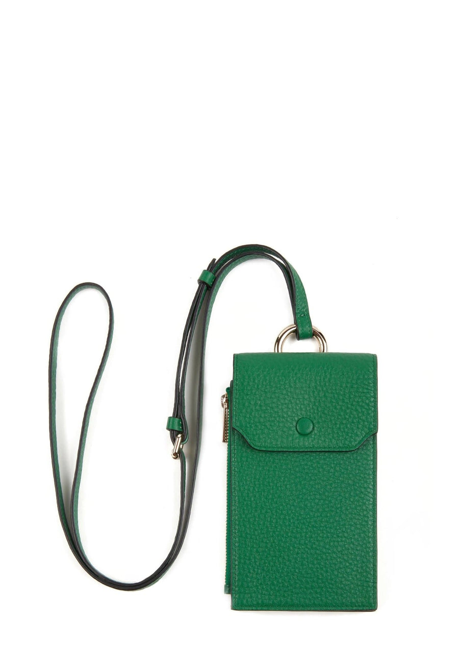 Izzi Phone Crossbody - Kelly Green