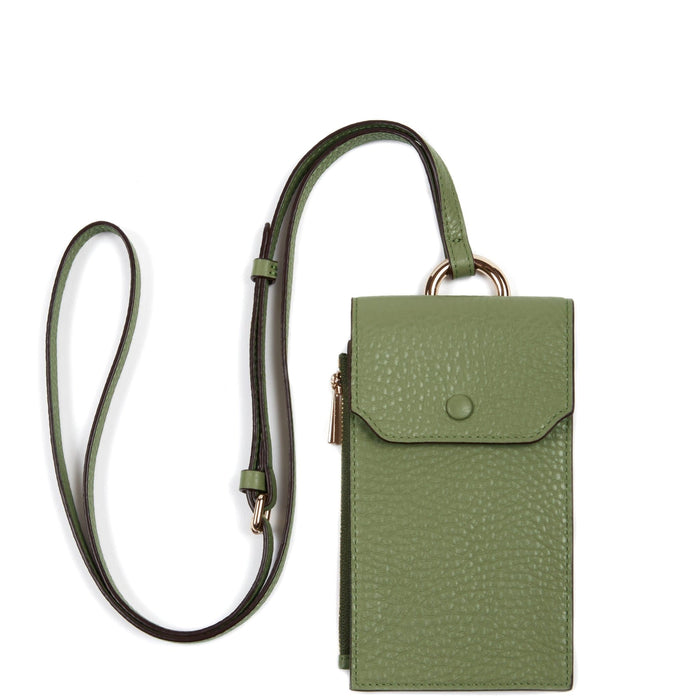 Izzi Phone Crossbody - Olive - OAD NEW YORK