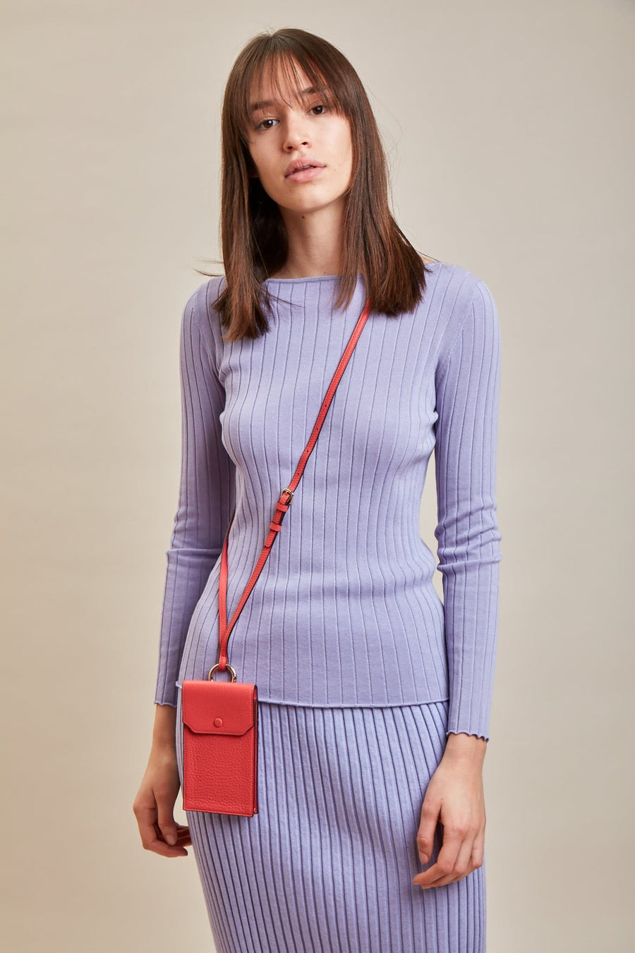 Izzi Phone Crossbody - Poppy - OAD NEW YORK