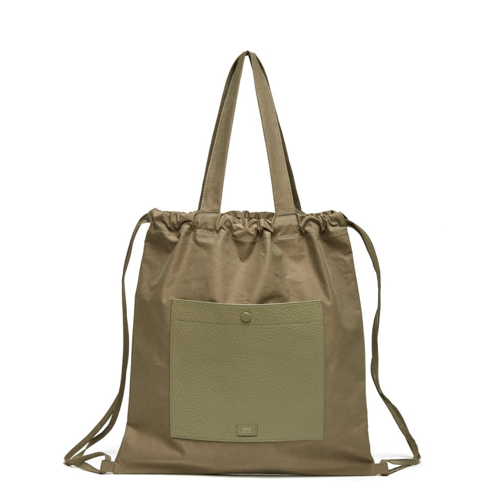 Marlow Backpack Tote - Olive - OAD NEW YORK