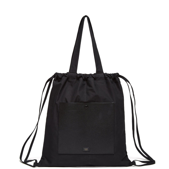 Marlow Backpack Tote - True Black - OAD NEW YORK