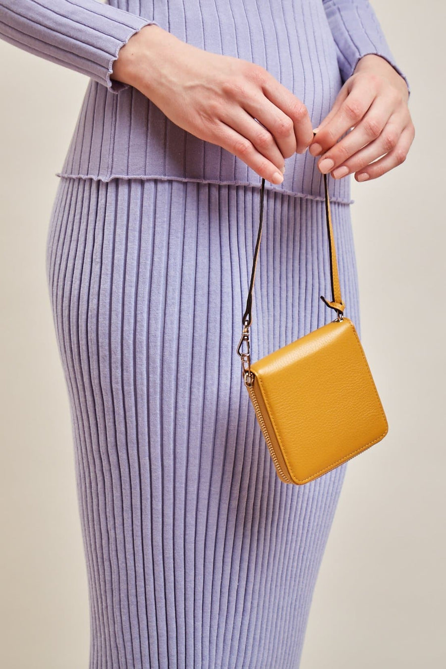 Mimi Wallet - Ochre - OAD NEW YORK