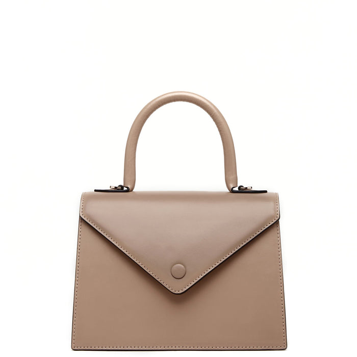 Mini Agnes Satchel - Mocha
