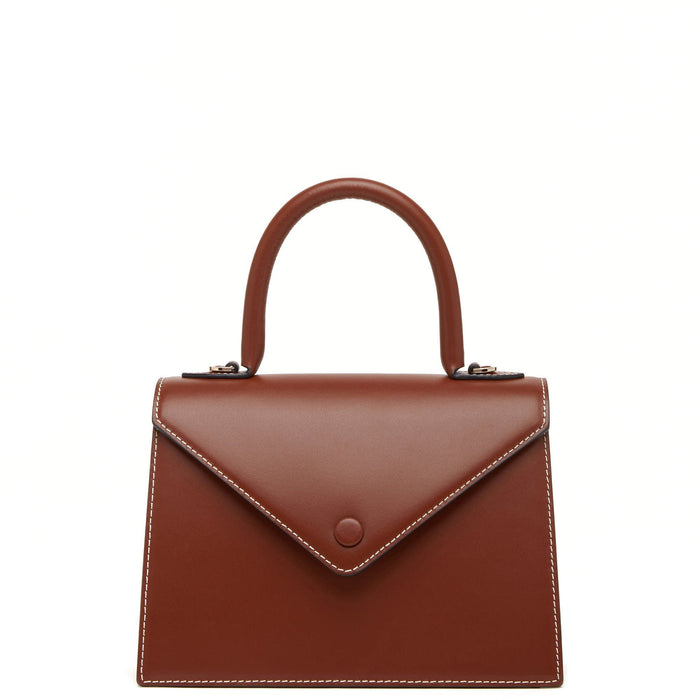 Mini Agnes Satchel - Sienna