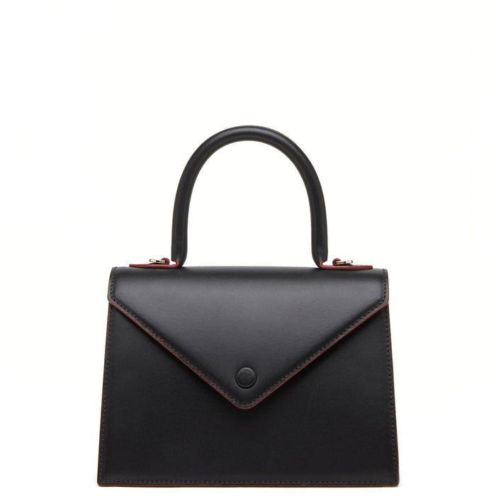 Mini Agnes Satchel - True Black - OAD NEW YORK