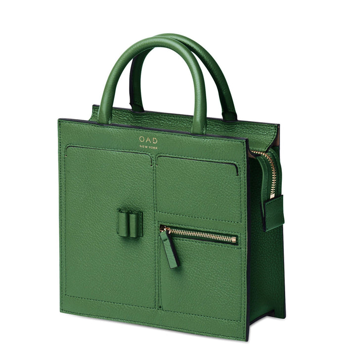 Mini Kit Zip Satchel - Fern - OAD NEW YORK