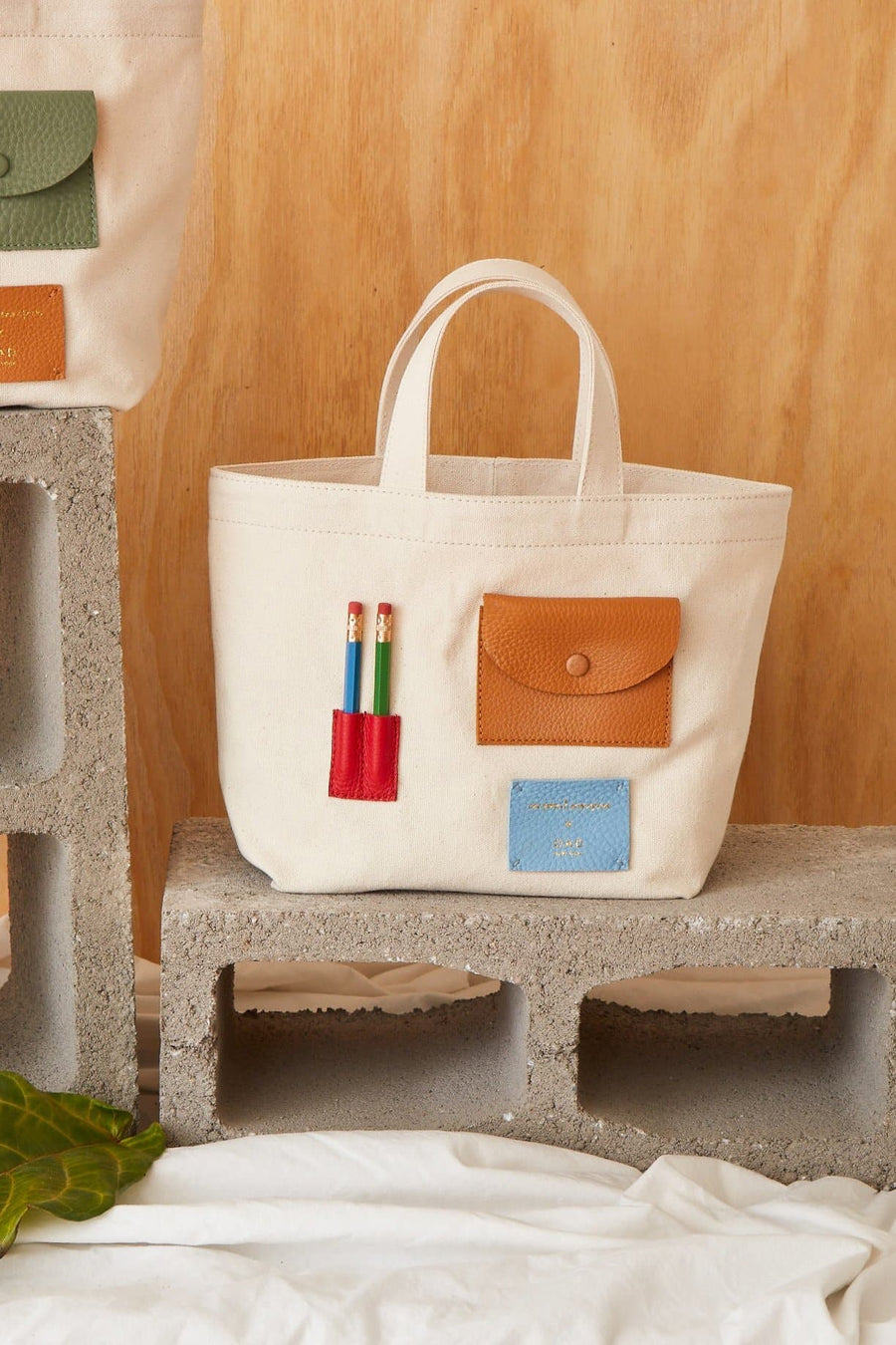 Mini OAD x CW Pencils Collab Tote - Colors II - OAD NEW YORK
