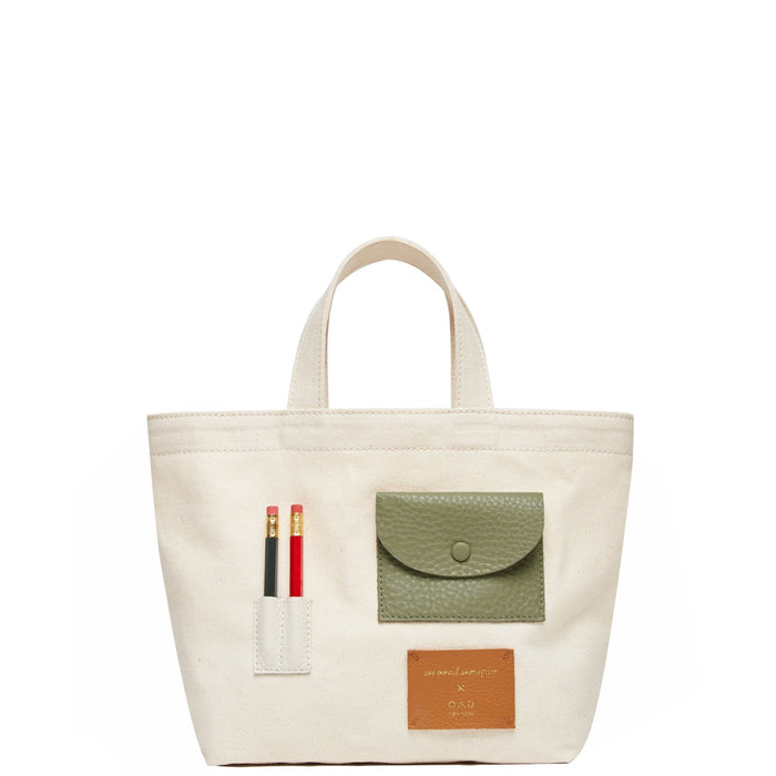 Mini OAD x CW Pencils Collab Tote - Neutrals II - OAD NEW YORK