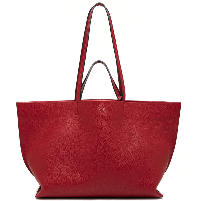 Mona Tote - Brick Red - OAD NEW YORK