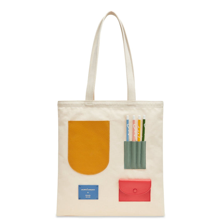 OAD x CW Pencils Collab Tote - Colors - OAD NEW YORK