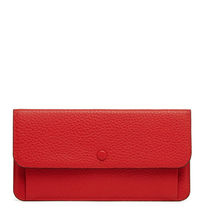 Slim Wallet Clutch - Classic Red - OAD NEW YORK