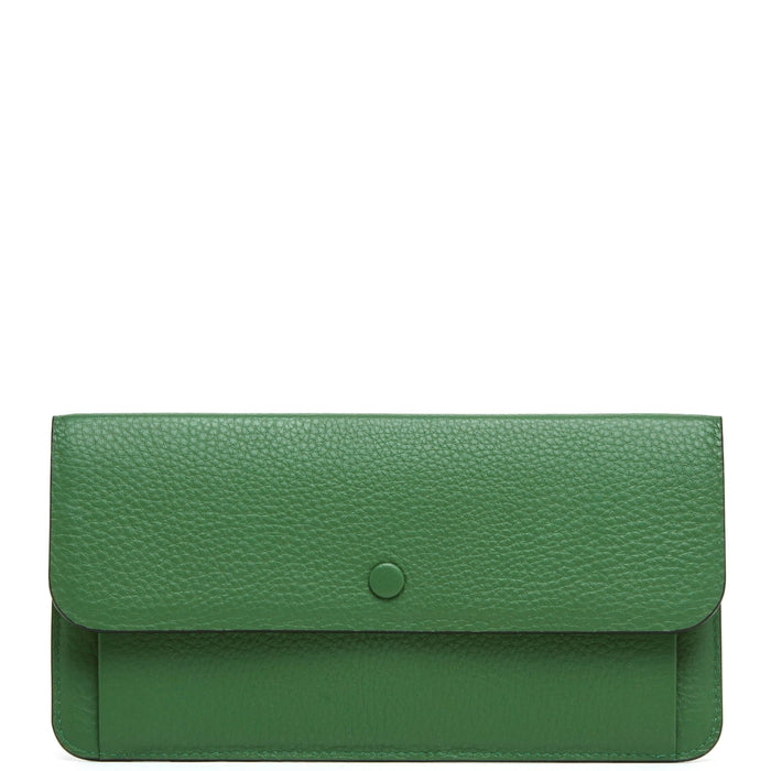 Slim Wallet Clutch - Fern - OAD NEW YORK