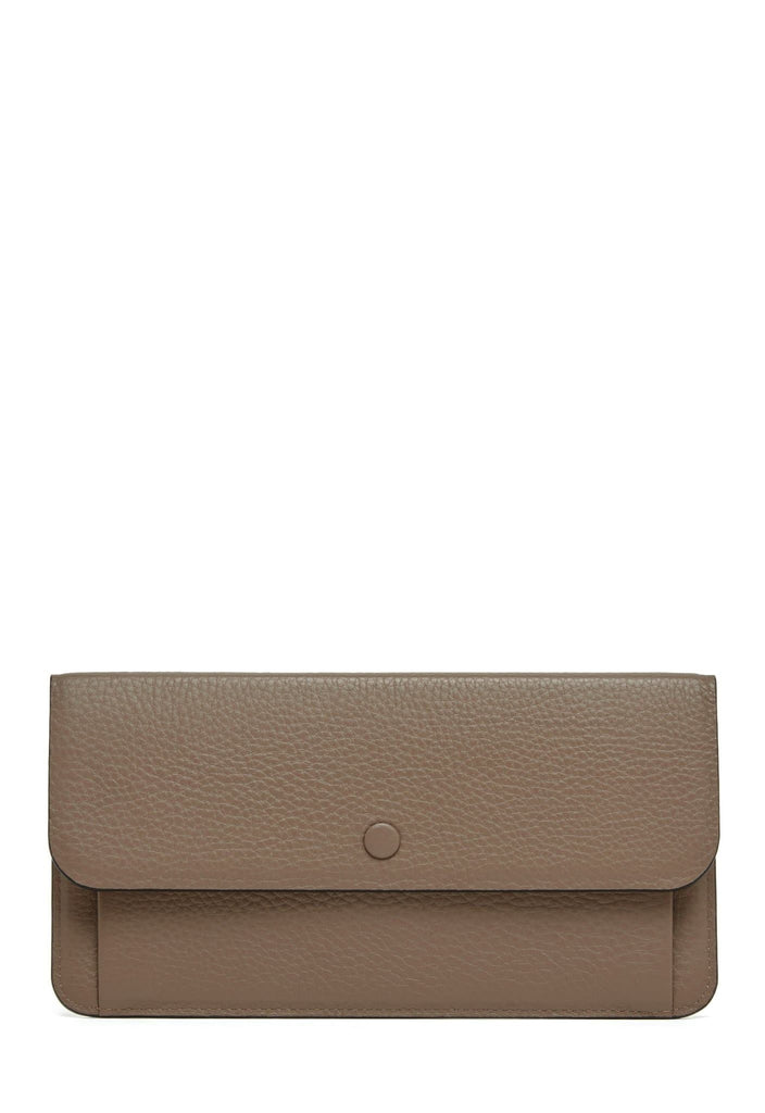Slim Wallet Clutch - Porcini