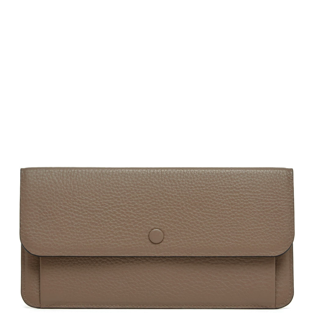 Slim Wallet Clutch - Porcini - OAD NEW YORK