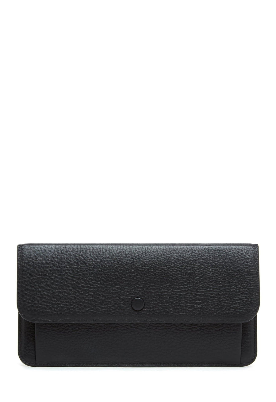 Slim Wallet Clutch - True Black - OAD NEW YORK
