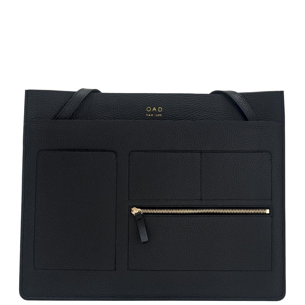 Kit Tote - True Black - OAD NEW YORK - 1