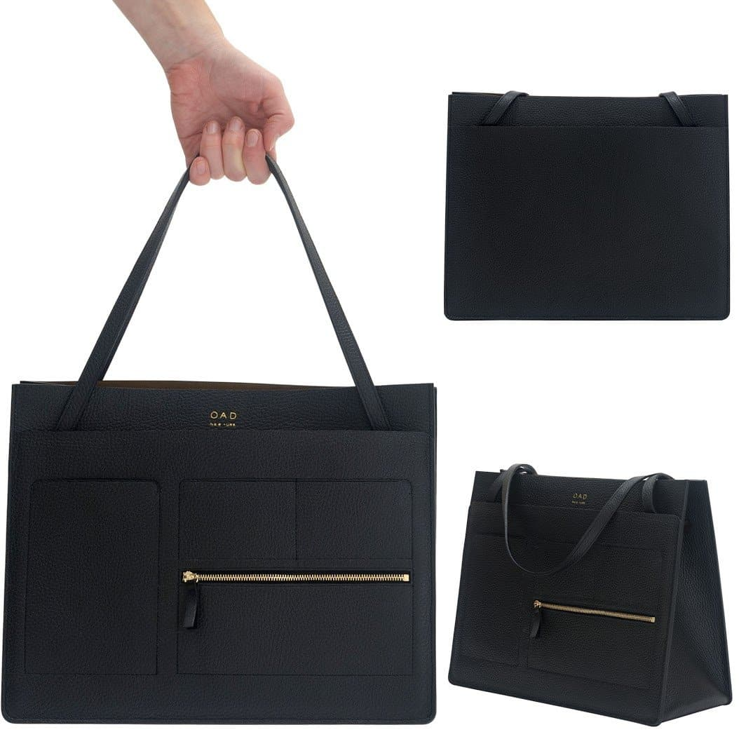 Kit Tote - True Black - OAD NEW YORK - 2