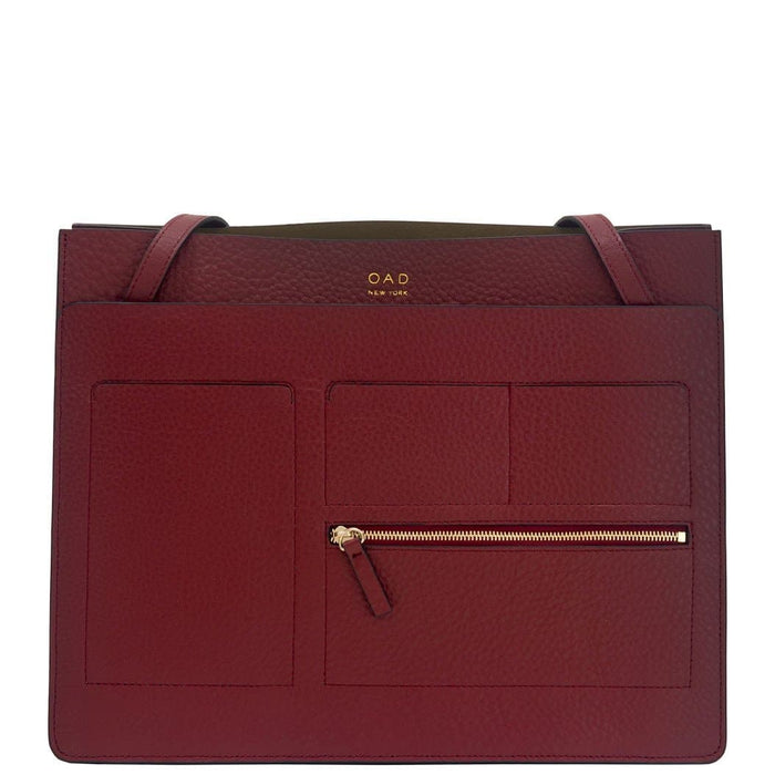 Kit Tote - Dark Wine - OAD NEW YORK