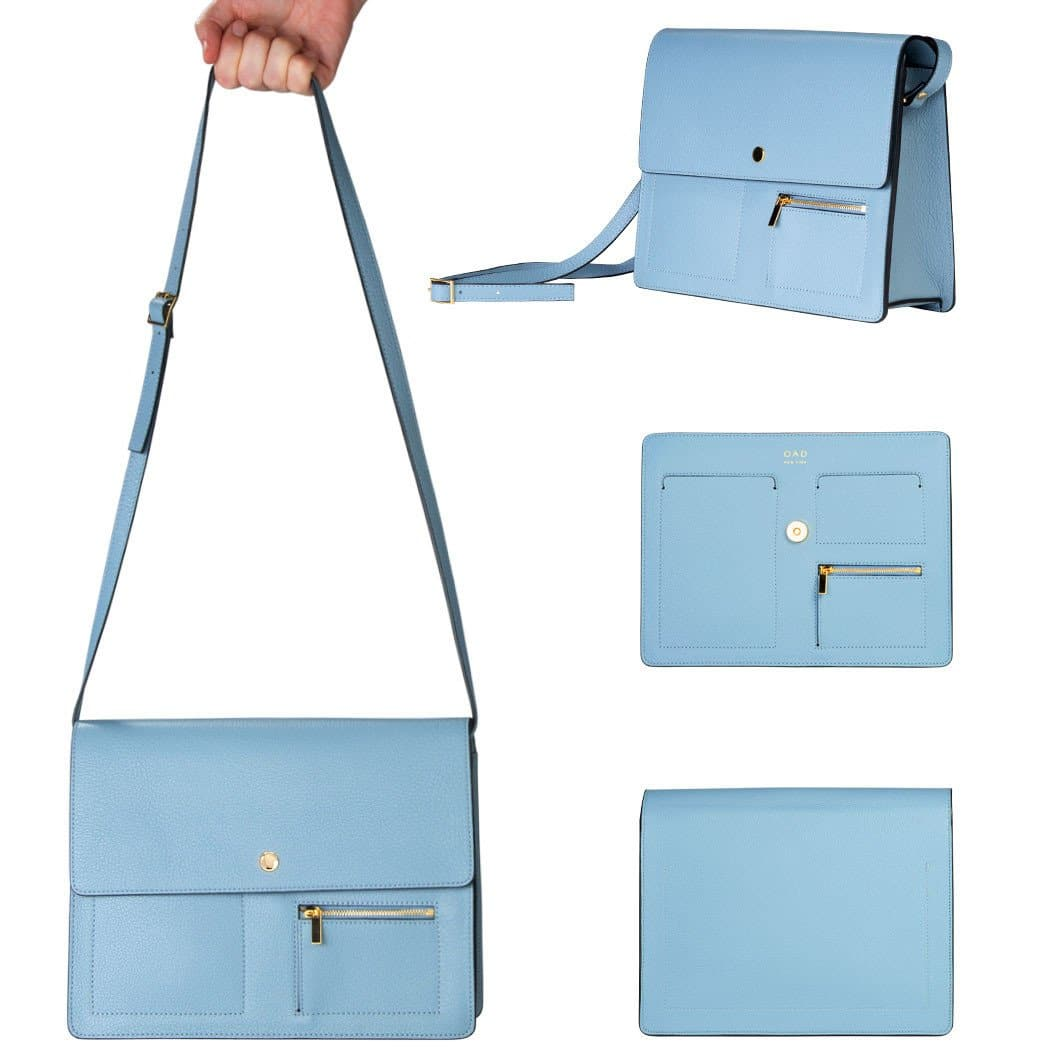 Messenger Courier - Powder Blue - OAD NEW YORK - 2