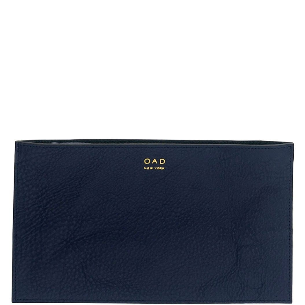 Line Pochette - Navy Blue + Forest Green - OAD NEW YORK - 1