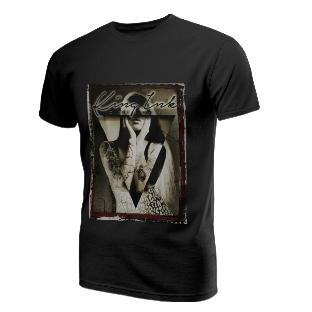 Men's Tattoo Girl Comp Couture Tee