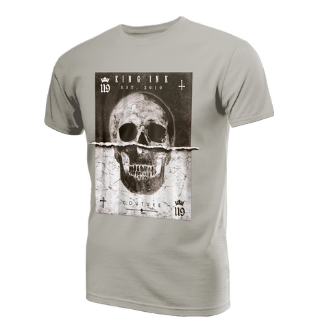 Men's Ripped Skull Couture Tee