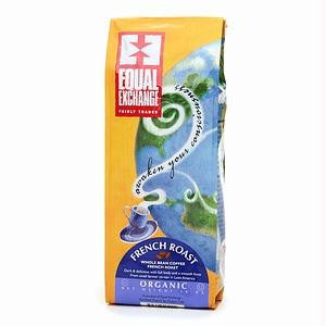 Equal Exchange French Roast Whole Bean Coffee (6x10 Oz)
