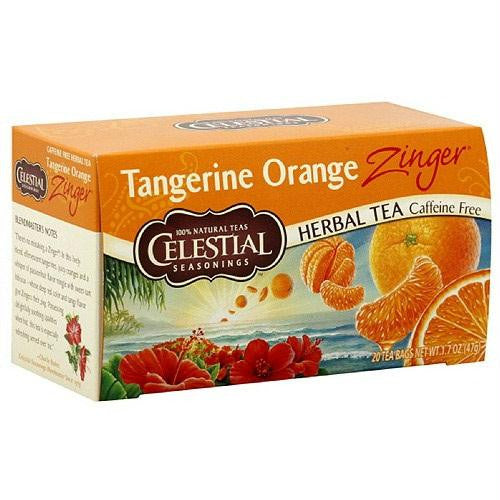 Celestial Seasonings Tangerine Orange Herb Tea (6x20bag)