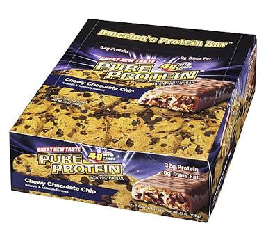Pure Protein Chewy Chocolate Chip (6 Pack)