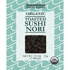 Sound Sea Vegetables Organic Toasted Sushi Nori (12x0.55oz)