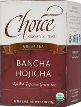 Choice Organic Teas Bancha Hojicha (6x16 Bag)
