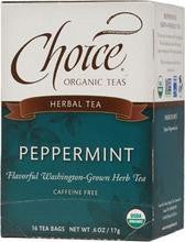 Choice Organic Teas Peppermint (6x16 Bag)
