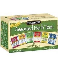 Bigelow 6 Assorted Herbal Teas (6x18 Bag )