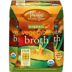 Pacific Natural Foods Organic Vegetable Broth (6x4 Pack)