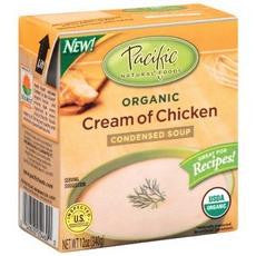 Pacific Natural Foods Organic Cream Of Chicken Condensed Soup (12x12oz)