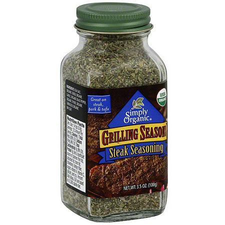 Simply Organic Og2 Garlic Steak Seasoning (6x2.3oz)