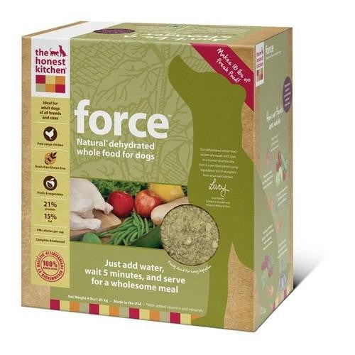 Honest Kitchen Force Dehydrated Dog Food (1x4lb)