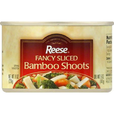 Reese Sliced Bamboo Shoots (1x8oz)