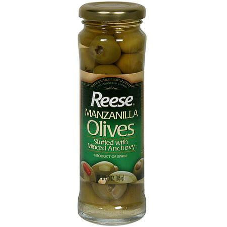 Reese Anchovy Stuffed Olives (1x3oz)