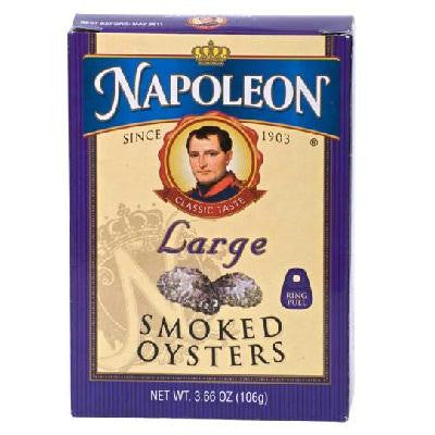 Napoleon Co. Oysters Smoked (1x3.66oz )