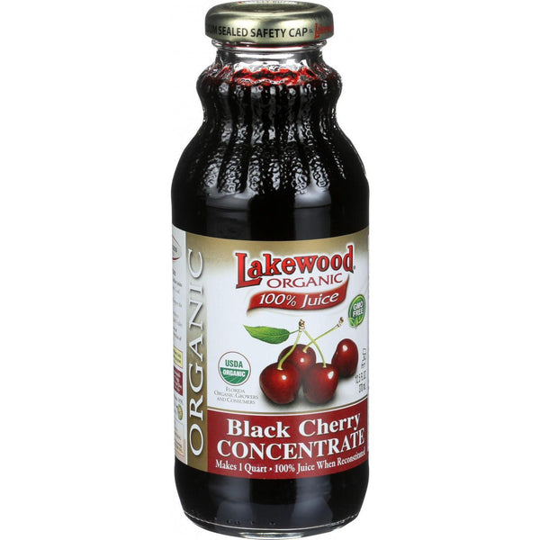 Lakewood Organic 100 Percent Fruit Juice Concentrate  Black Cherry  12.5 Oz