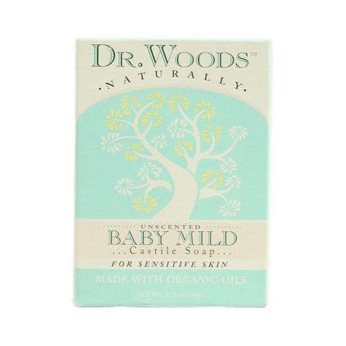 Dr. Woods Bar Soap Baby Mild Unscented (1x5.25 Oz)