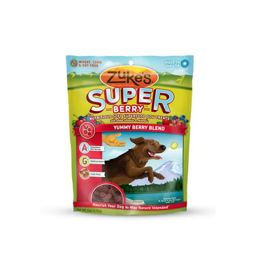 Zuke's Soft Superfood Berry Dog Treat (1x3oz)