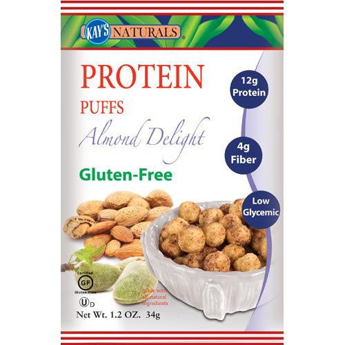 Kay's Naturals Protein Puffs Almond Delight (6 Pack) 1.2 Oz