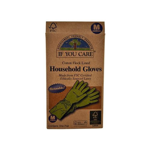 If You Care Medium Household Gloves (1x1 Pair)
