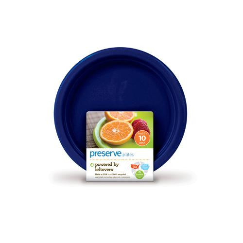 Preserve Small Reusable Plates Midnight Blue (10 X 7 In)