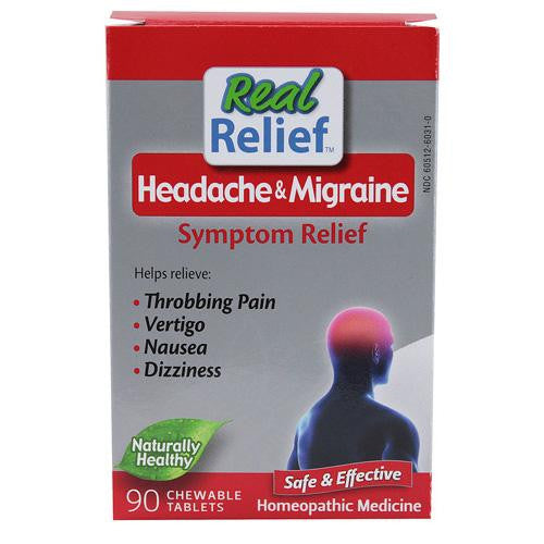 Homeolab Usa Headache And Migrane Symptom Relief (1x90 Tablets)