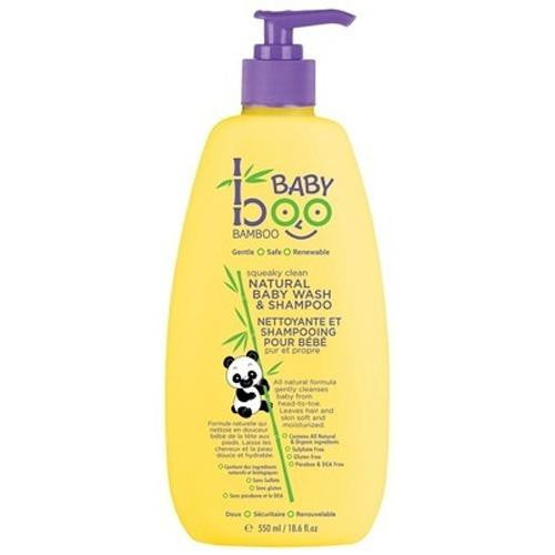 Boo Bamboo Baby Wash And Shampoo Squeaky Clean (1x18.6 Fl Oz)