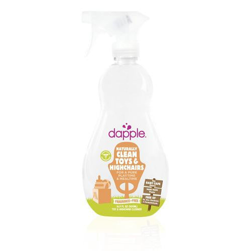 Dapple Toy And High Chair Cleaner Fragrance Free (16.9 Fl Oz)